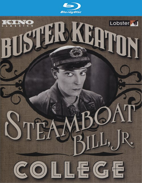 Steamboat Bill Jr./College Blu-ray