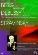 Berg / Debussy / Stravinsky: Pierre Boulez Movie