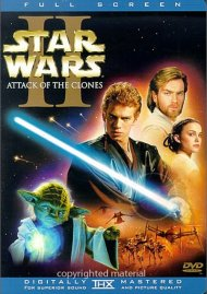 Star Wars Episode II: Attack Of The Clones (Fullscreen) Movie