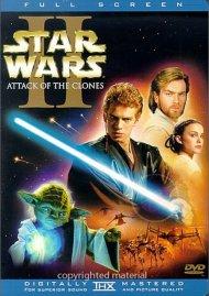 Star Wars Episode II: Attack Of The Clones (Fullscreen) Movie