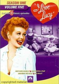 I Love Lucy: Season One - Volume Five Movie