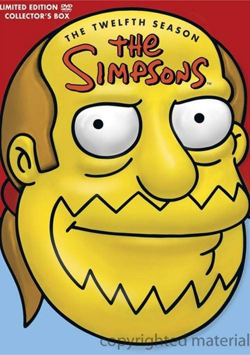 Simpsons, The: The Twelfth Season (Comic Book Guy Collectible Packaging) Movie
