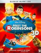 Meet The Robinsons 3D (Blu-ray 3D + Blu-ray + DVD) Blu-ray
