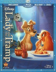 Lady And The Tramp: Diamond Edition (Blu-ray + DVD Combo) Blu-ray