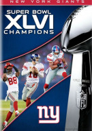 NFL Super Bowl XLVI Champions: 2011 New York Giants Movie