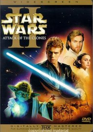 Star Wars Episode II: Attack Of The Clones (Widescreen) Movie