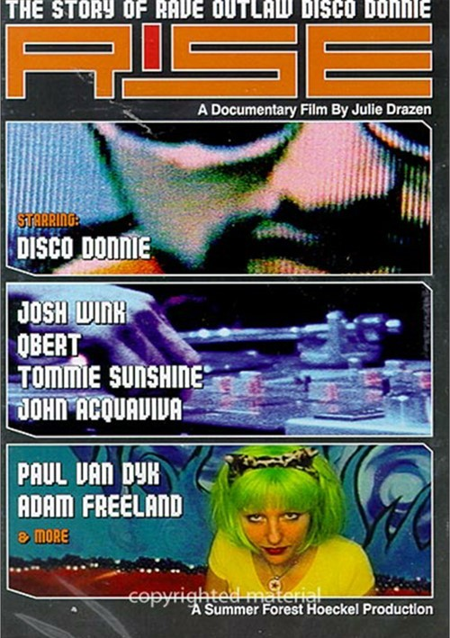 Rise: The Story Of Rave Outlaw Disco Donnie Movie