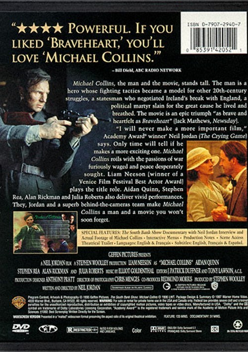 michael collins movie review Michael collins movie reviews and ratings -tributeca rating of 000 out of 5 stars.