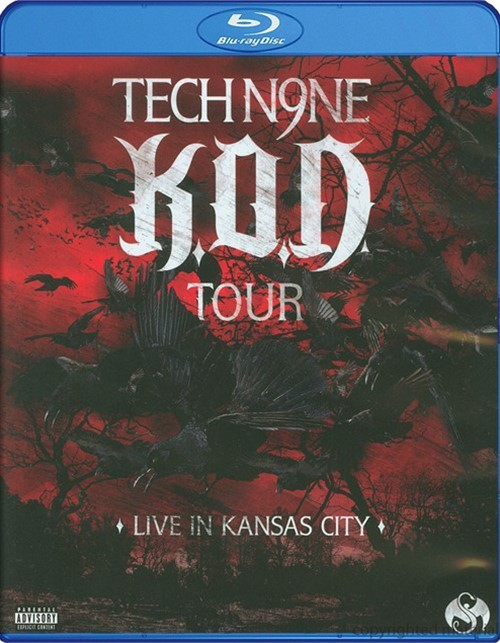 Tech N9ne: K.O.D. Tour - Live In Kansas City Blu-ray