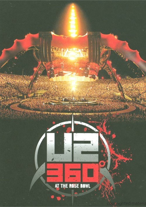U2: 360 At The Rose Bowl Movie