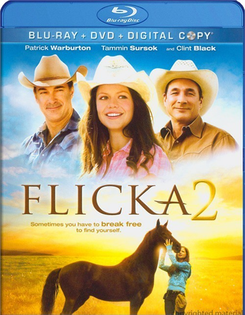 Flicka 2 (Blu-ray + DVD + Digital Copy) Blu-ray