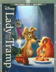 Lady And The Tramp: Diamond Edition (DVD + Blu-ray Combo) Blu-ray