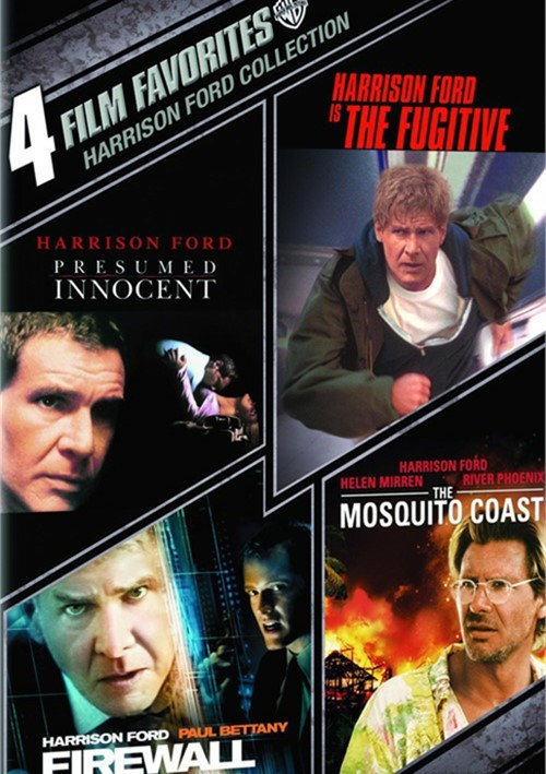4 Film Favorites: Harrison Ford Collection Movie