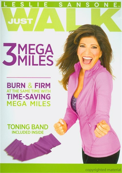 Leslie Sansone: Just Walk - 3 Mega Miles Movie