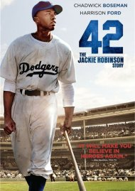 42 (DVD + UltraViolet) Movie