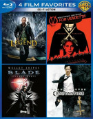 4 Film Favorites: Sci-Fi Action Blu-ray