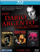 Dario Argento Collection, The Blu-ray