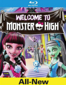 Monster High: Welcome To Monster High (Blu-ray + DVD + UltraViolet) Blu-ray