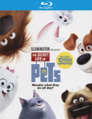 Secret Life Of Pets, The (Blu-ray + DVD + UltraViolet) Blu-ray