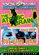 Atomic Brain, The / Love After Death / The Incredible Petrified World (Triple Feature) Movie