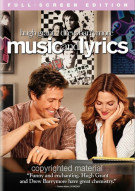 Music And Lyrics (Fullscreen) Movie