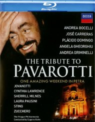 Tribute To Pavarotti, The Blu-ray