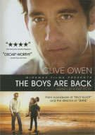 Boys Are Back, The Movie