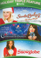 Santa Baby 2: Christmas Maybe / Christmas In Boston / Snowglobe (Triple Feature) Movie