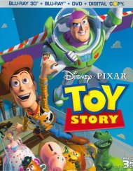 Toy Story 3D (Blu-ray 3D + Blu-ray + DVD + Digital Copy) Blu-ray