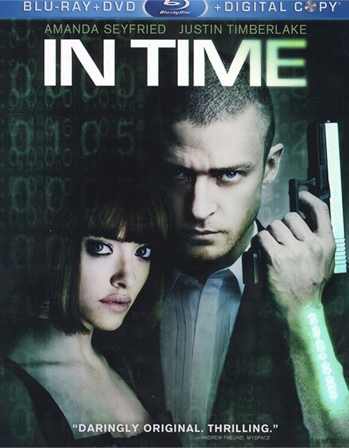 In Time (Blu-ray + DVD + Digital Copy) Blu-ray