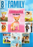 8 Movie Family Pack Movie