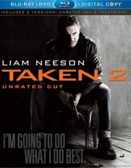 Taken 2 (Blu-ray + DVD + Digital Copy) Blu-ray
