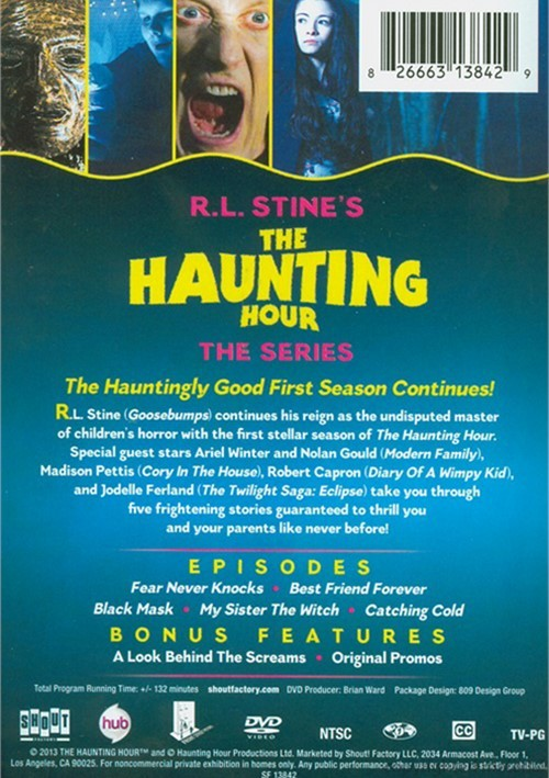 R.L. Stine: The Haunting Hour - Volume Three (DVD)   DVD ...