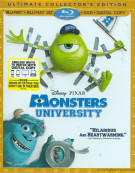 Monsters University 3D (Blu-ray 3D + Blu-ray + DVD + Digital Copy) Blu-ray