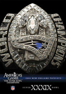 NFL Americas Game: 2004 New England Patroits Super Bowl XXXIX Movie
