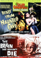 Beast From Haunted Cave /The Brain That Wouldnt Die: Killer Creature Double Feature Movie