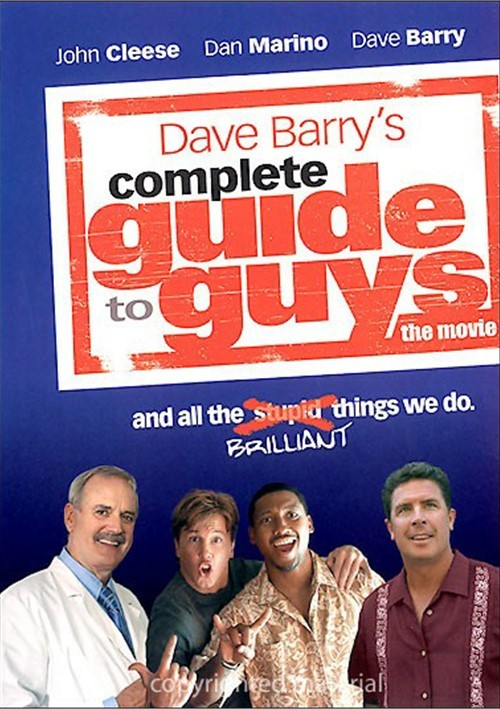 Dave Barrys Complete Guide To Guys Movie