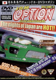 JDM Option International: Volume 3 - D1 Tokyo Night Time Drift Movie