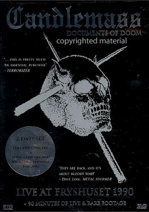 Candlemass: Documents Of Doom Movie