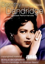 In Concert Series: Dorothy Dandridge Movie
