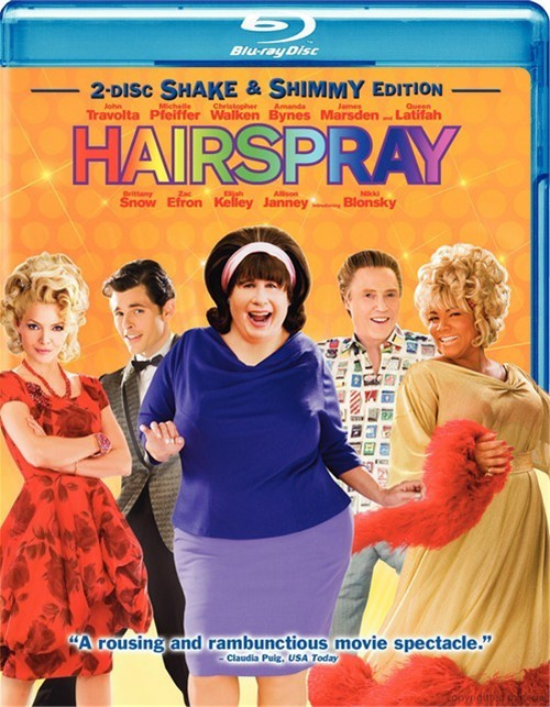 Hairspray: 2 Disc Shake & Shimmy Edition Blu-ray