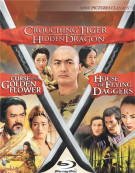 House Of Flying Daggers / Crouching Tiger, Hidden Dragon / Curse Of The Golden Flower (3 Pack) Blu-ray