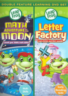 Leap Frog: Math Adventure To The Moon / Letter Factory (Double Feature) Movie