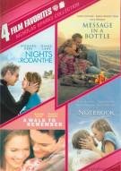 4 Film Favorites: Nicholas Sparks Romances Movie