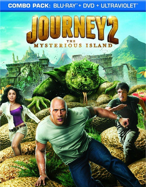 Journey 2: The Mysterious Island (Blu-ray + DVD + UltraViolet) Blu-ray