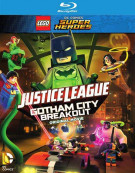 Lego DC Comics Super Heroes: Justice League - Gotham City Breakout (Blu-ray + DVD + UltraViolet) Blu-ray