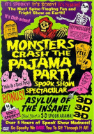 Monsters Crash The Pajama Party: Spook Show Spectacular Movie