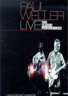 Paul Weller: Live - Two Classic Performances Movie