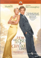 How To Lose A Guy In 10 Days (Fullscreen) Movie