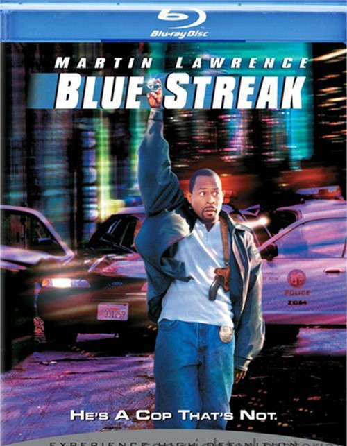 Blue Streak Blu-ray